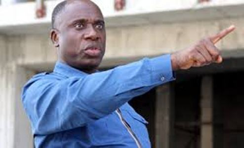 Angry Amaechi flies out of the country