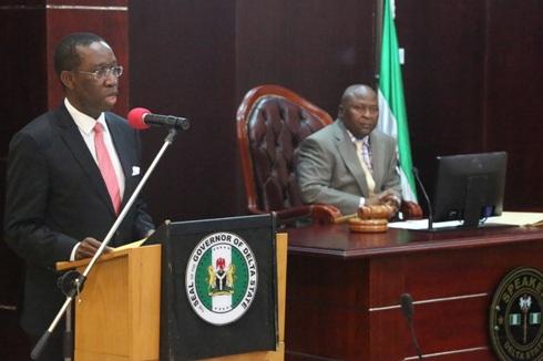 Gov Okowa and Speaker Igbuya of Delta State