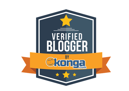 Verified bloggers badge presented to Urhobotoday by KONGA