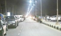 Warri at night before the commencement of Okowa's administration