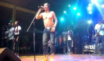 Rehabilitated Majek Ffashek performing at Felabration recently......