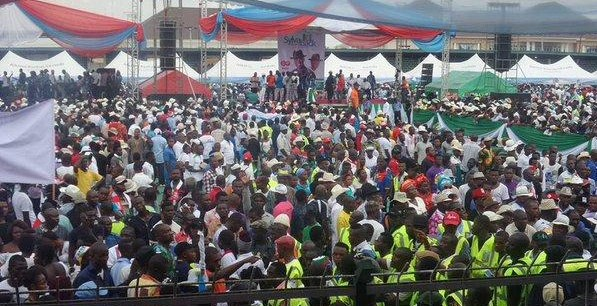 APC Governorship rally in Bayelsa