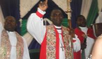 Bishop of the Ughelli Diocese, Delta State, Rt. Rev. Cyril Odutemu