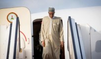 President Muhammadu Buhari arriving in Nigeria after 10 days medical leave in United Kingdom