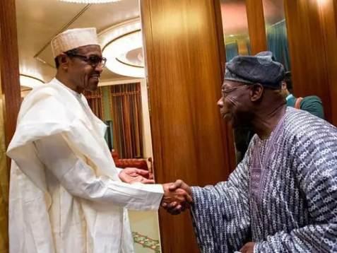Nuhari and Obasanjo