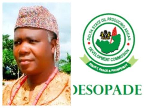 DESOPADEC Managng Director, Makinwa