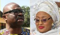 Fayose and Aisha Buhari