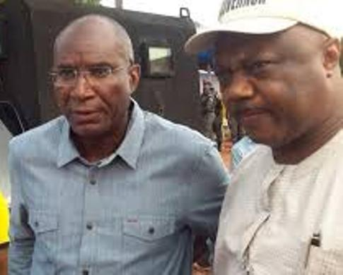 Senator Ovie Omo-Agege and Chief Great Ogboru
