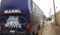WARRI WOLVES BUS