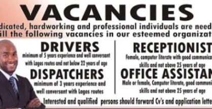 Examples of  fake jpb vacancies advert littering Nigerian streets