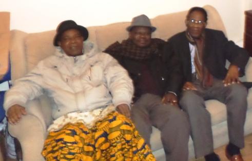 L-R-NChief George Ikirigbe, Sir Austen Umukoro , Chairman UPU Board of Trustee In UK, and Chief Odeta members of the Urhobo Elders Council in UK