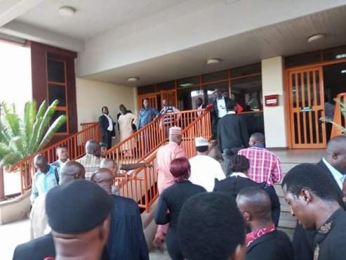Certificate Scandal:  Melaye Storms Abuja Court, Sues Saharareporters N5b