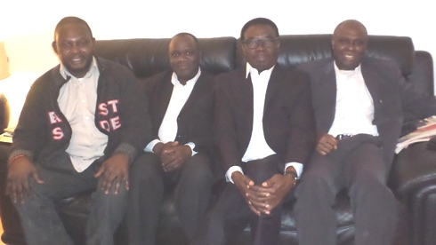 L-R- Chief Angus Omasoro, Mr Robert Onojeruo, Chief Johnson Barovbe and Mr Ese Ariemugbovwe