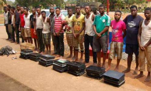 Image result for Caught yahoo boys