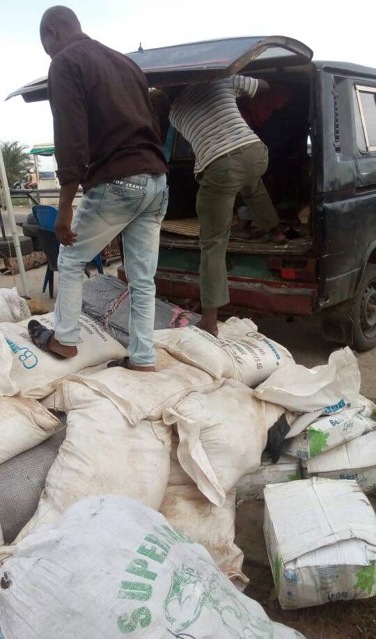FRSC Officials Discover Sacks Of Marijuana Concealed In Apprehended Vehicle