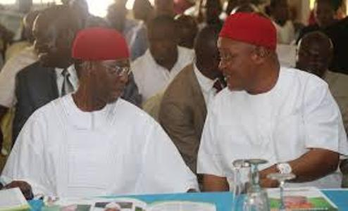 Okowa and Igbuya when the going was good