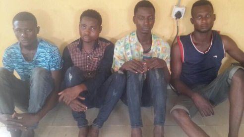 Police Arrest   Undergraduates Who Pose As Custom Officers Auctioning Vehicles On FaceBook