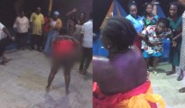 The woman was reportedly responsible for the cessation of her sister's menstruation for 12 years. Photo: Facebook/Sanco Ese Darlinton Read more: https://www.naij.com/1118746-woman-reportedly-runs-mad-pastor-prayed-responsible-sisters-medical-conditio.html?utm_source=mailfire&utm_medium=email&utm_campaign=hundred5_pusher