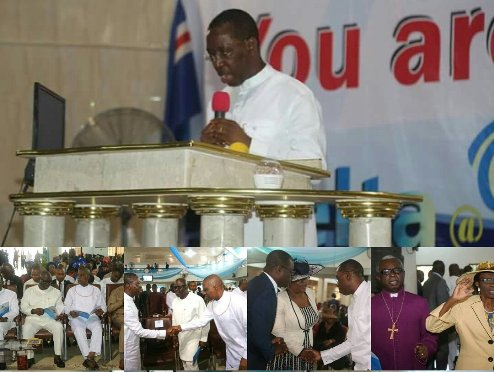OKOWA CHURCH SERVICE