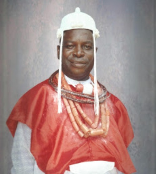The current Osu R' Urhobo Of Lagos, Chief Vincent Ogheneochuko Ahwin