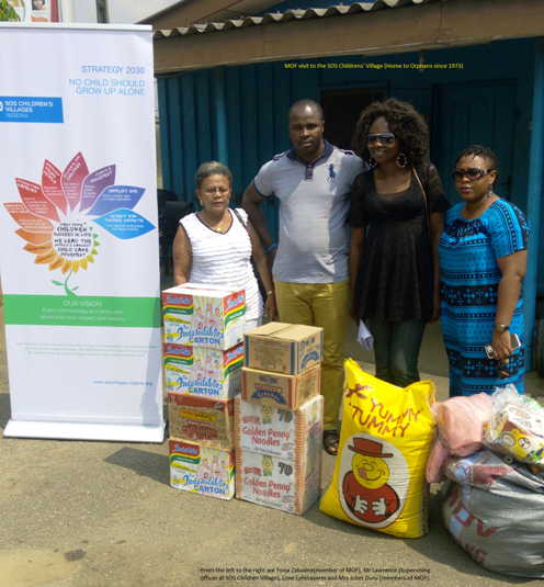 Malcolm Omirhobo Foundation Donates Cash, Materials To SOS Children Orphanage Home