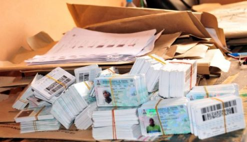 '13,000 Permanent Voter Cards Abandoned In Warri'