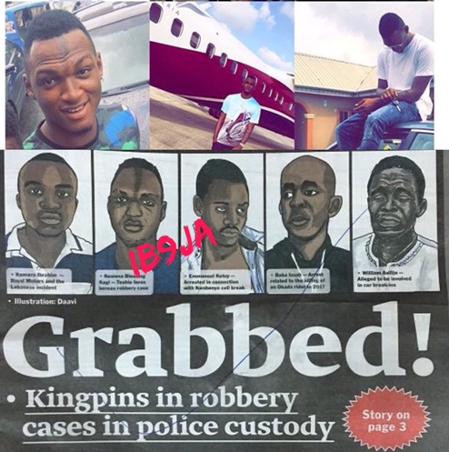 Delta State Big Boy, Five Others Wanted For Robbery In Ghana, Arrested