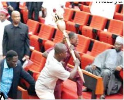 Senate Invasion And Omo-Agege's Connection