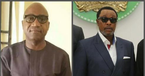 Image result for Governor Ifeanyi Okowa's brother, Tony threw