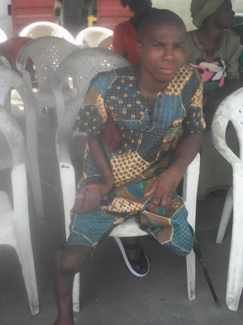 Physically Challenged Who Buries 100 Years Grandmother With Fanfare, Appeals For Assistance