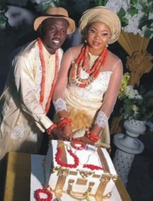 Super Eagles Mid-Fielder, Etebo Oghenekaro Weds Mother Of His Child In Warri