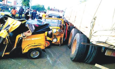 Four Dead In 'Keke Napep' Crash In Asaba