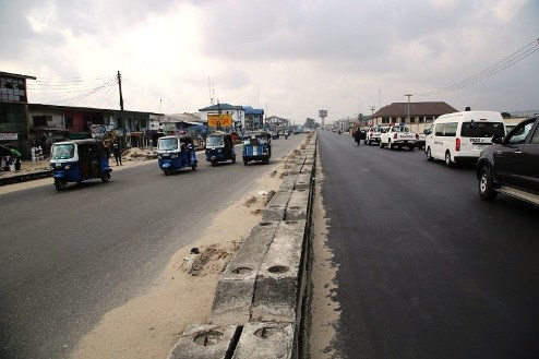Okowa Expresses  Satisfaction In The On-Going Reconstruction Of Warri-Sapele Road