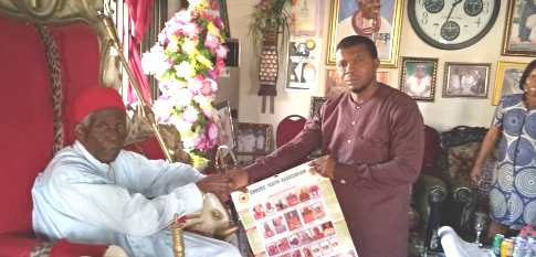 Urhobo Youths Congratulates Olomu Monarch On 103 Birthday, Launches 2020  Calendar