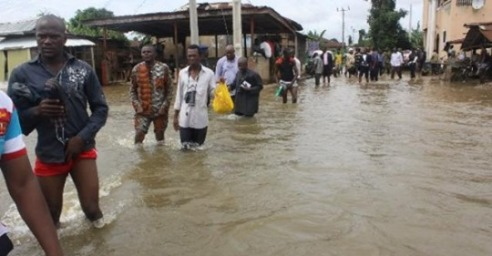 Flood Takes Over Warri