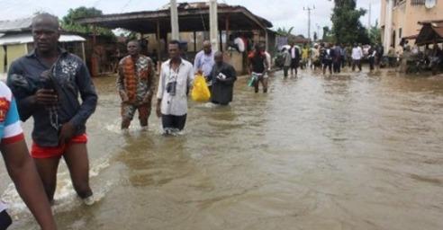 Flood Takes Over Warri