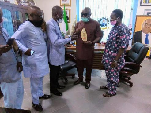 FUPRE VC, Akpofure Elated Over Visit, Honour By Okotie-Eboh Gram School Old Boys