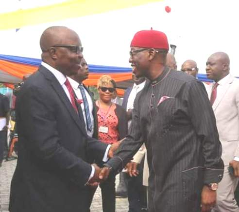 Rumour Of Defection Spread  As Uduaghan Visits Okowa