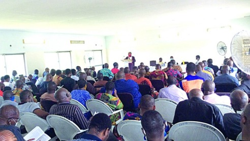 Anglican Senior Clergy Course Commences At Ibru Int'l ecumenical Centre, Agbarha-Otor
