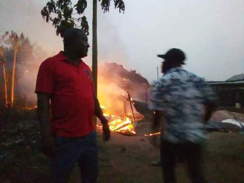 Gas Plant Explosion Kill One, Scores Roasted, Houses Razed In Agbor