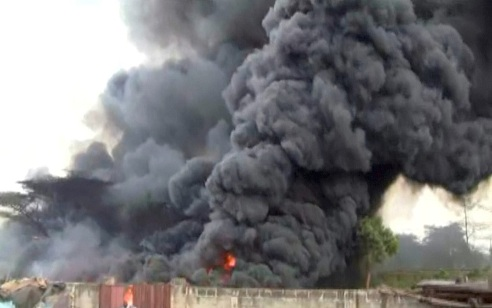 Multi-Million Naira Goods Destroyed As Another  Gas  Explosion Rocks Delta