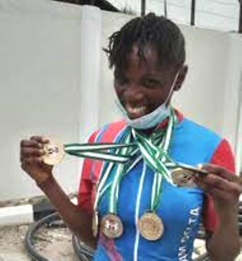Edo 2020: Delta Multi Medallist, Ese Ukpeseraye Expects Reward After Doing The State Proud