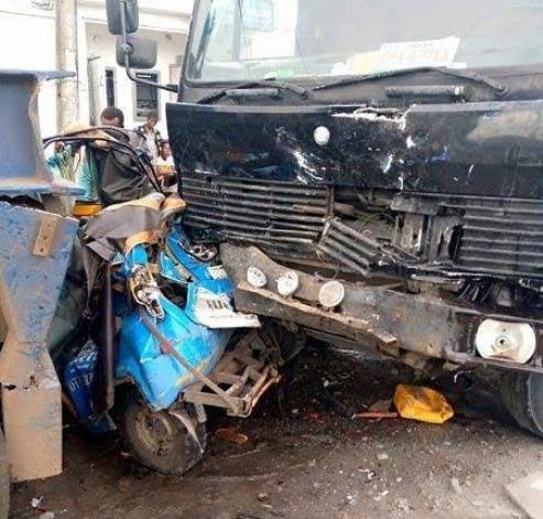 Delta: Truck Laden With Cement Crushes Teacher To Death In Effurun
