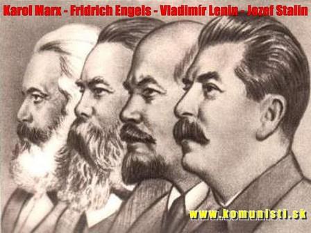 Marx Engels Lenin Stalin
