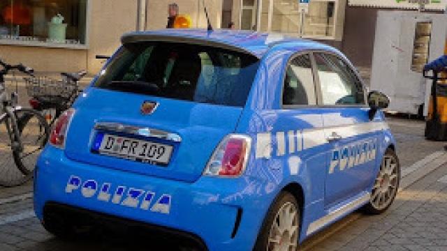 Addio, Fiat 500 della polizia.