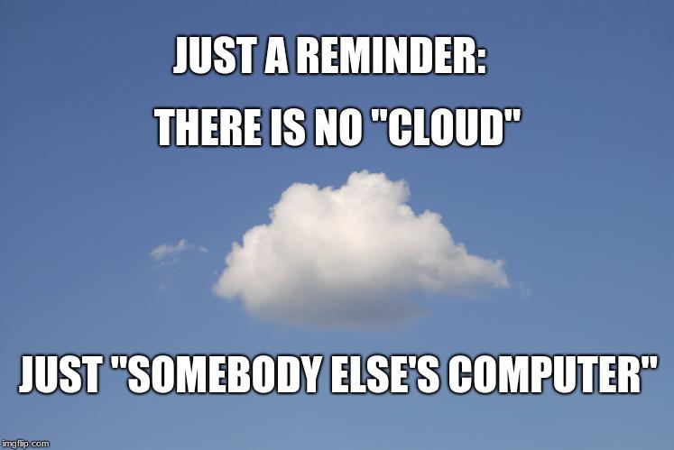 I piani per il Cloud.
