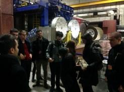 At Deutsches Elektronen-Synchrotron DESY Hamburg