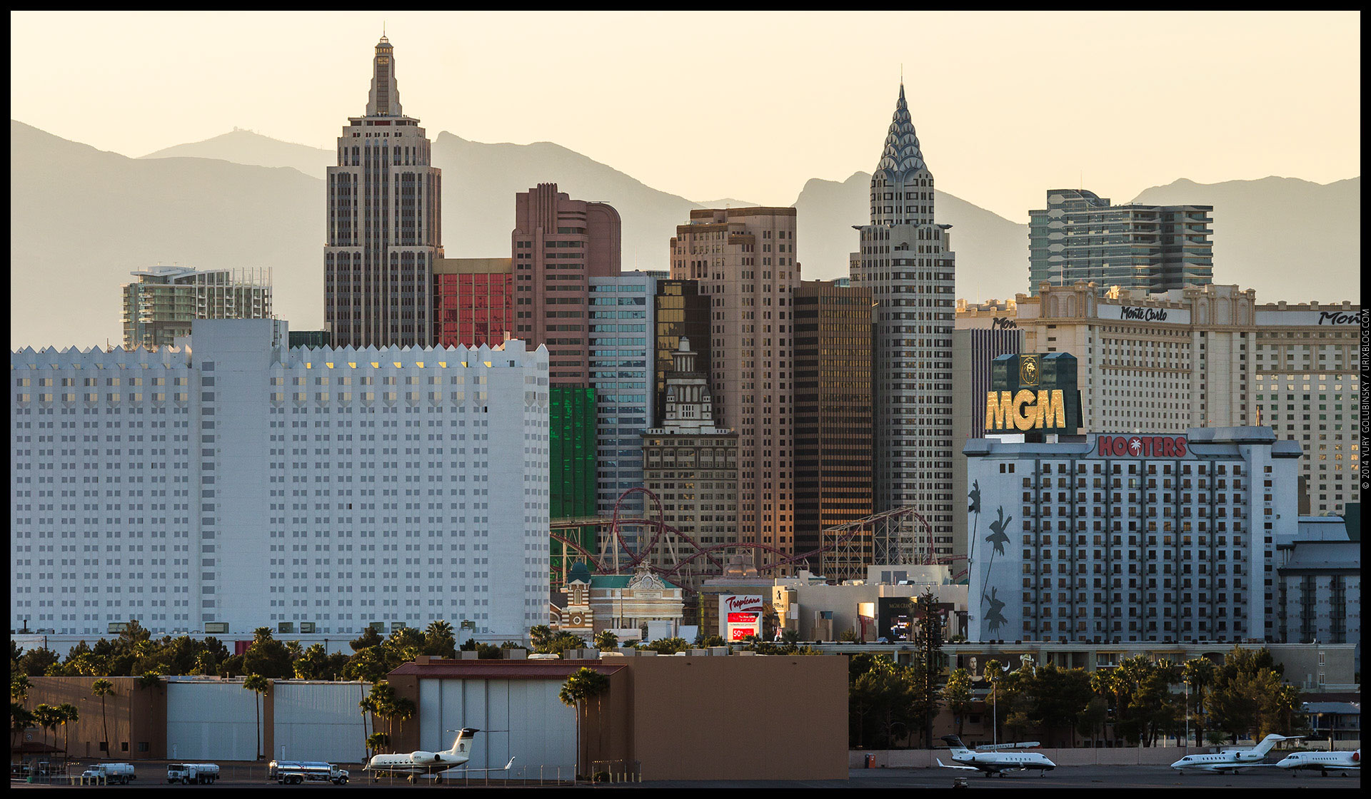 New York, casino, hotel, 2014, LAS, Las Vegas McCarran International airport, strip, LV, Clark County, USA, Nevada, panorama, horizon, city