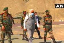 Photo of प्रधानमंत्री मोदी ने किया लद्दाख का औचक दौरा
