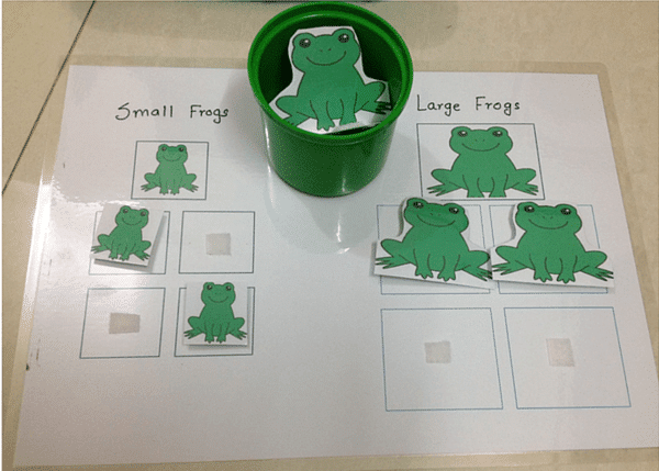 montessori preschool activity
